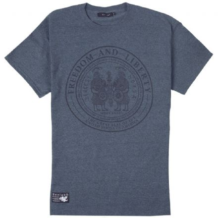 "Senlak ""Ancestors"" T-Shirt - Heather Navy"